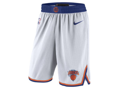 New York Knicks Nike NBA Men s Association Swingman Shorts d18ffc23f