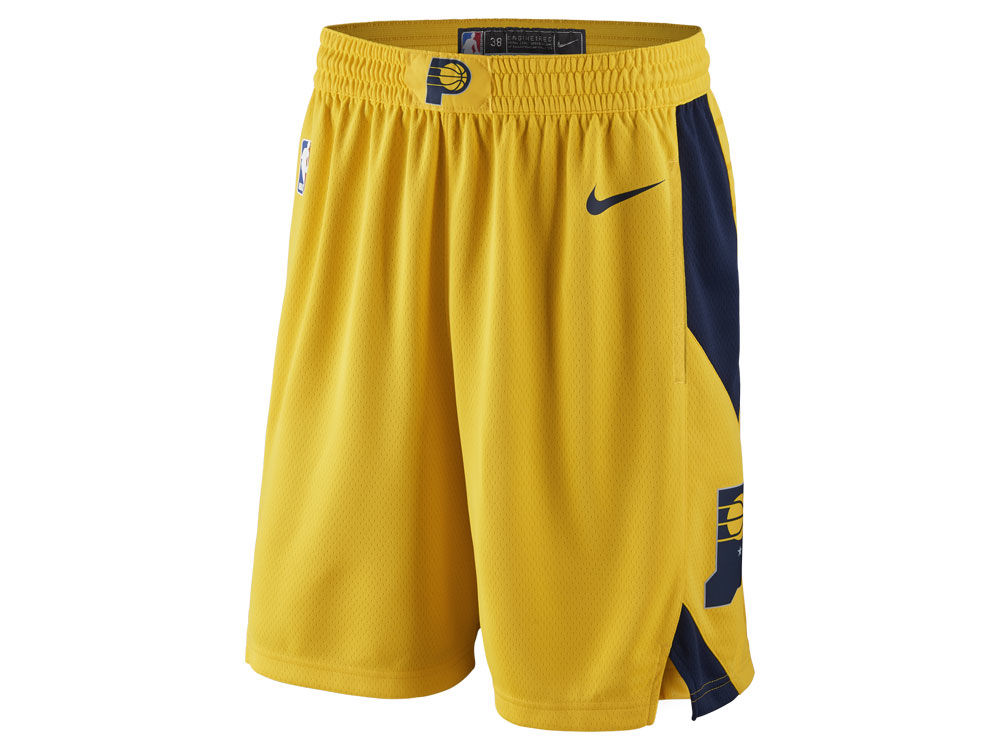 Indiana Pacers Nike NBA Men s Statement Swingman Shorts  51478a6fd
