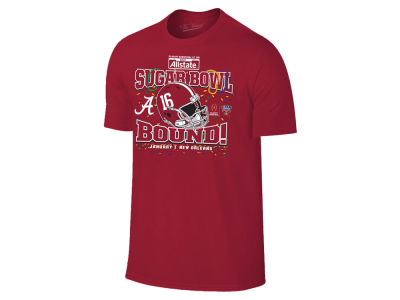 Alabama Crimson Tide Retro Brand NCAA Men's Sugar Bowl Bound T-Shirt