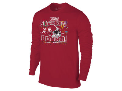 Alabama Crimson Tide Retro Brand NCAA Men's Sugar Bowl Bound Long Sleeve T-Shirt