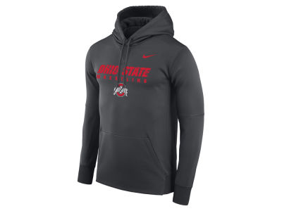 Ohio State Buckeyes Nike NCAA Men's Legend Wrestling Hooded Sweatshirt