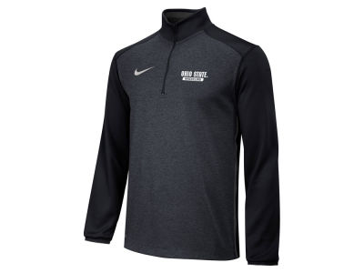 Ohio State Buckeyes Nike NCAA Men's Core Wrestling Quarter Zip Pullover