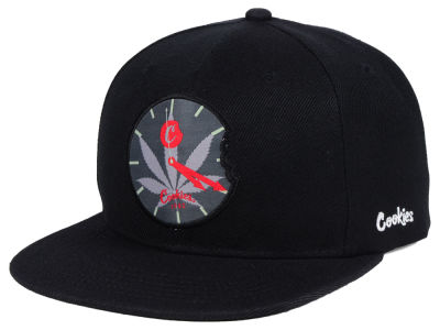 Cookies You Know the Time Snapback Cap