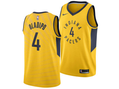Indiana Pacers Victor Oladipo Nike NBA Men's Statement Swingman Jersey