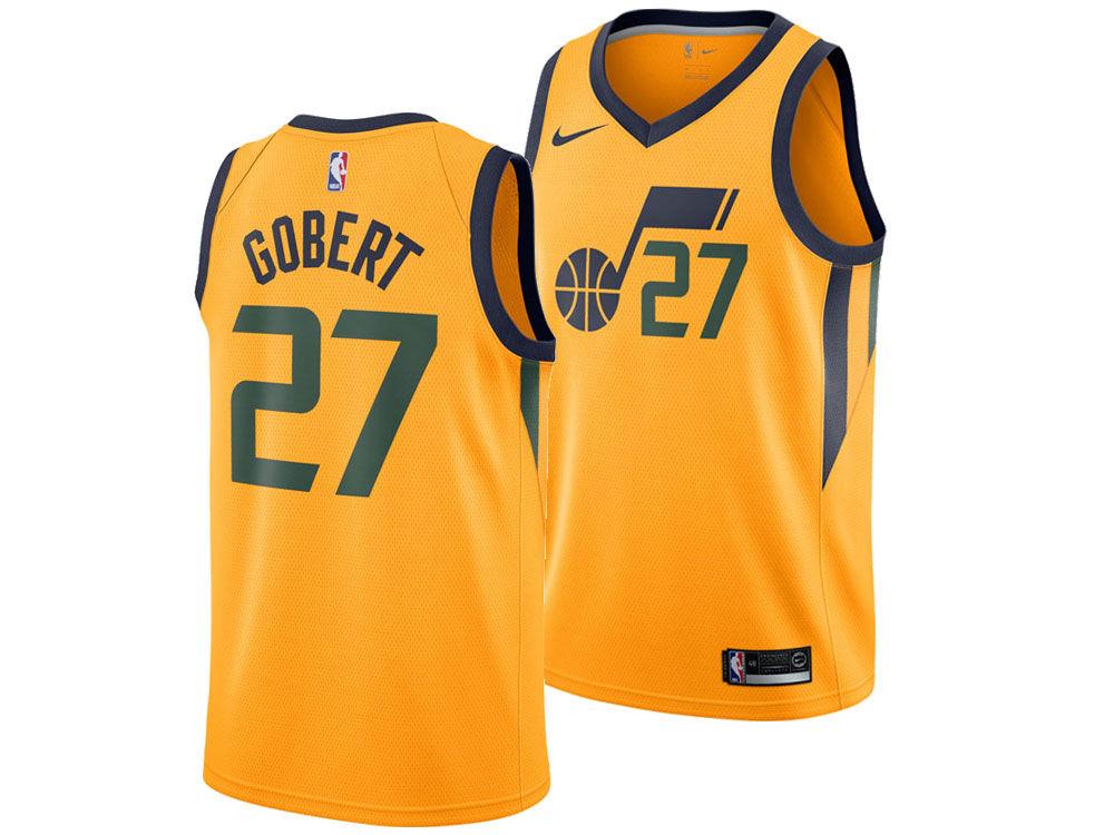 5c2d3f961fd ... real utah jazz rudy gobert nike nba mens statement swingman jersey  220b6 64169