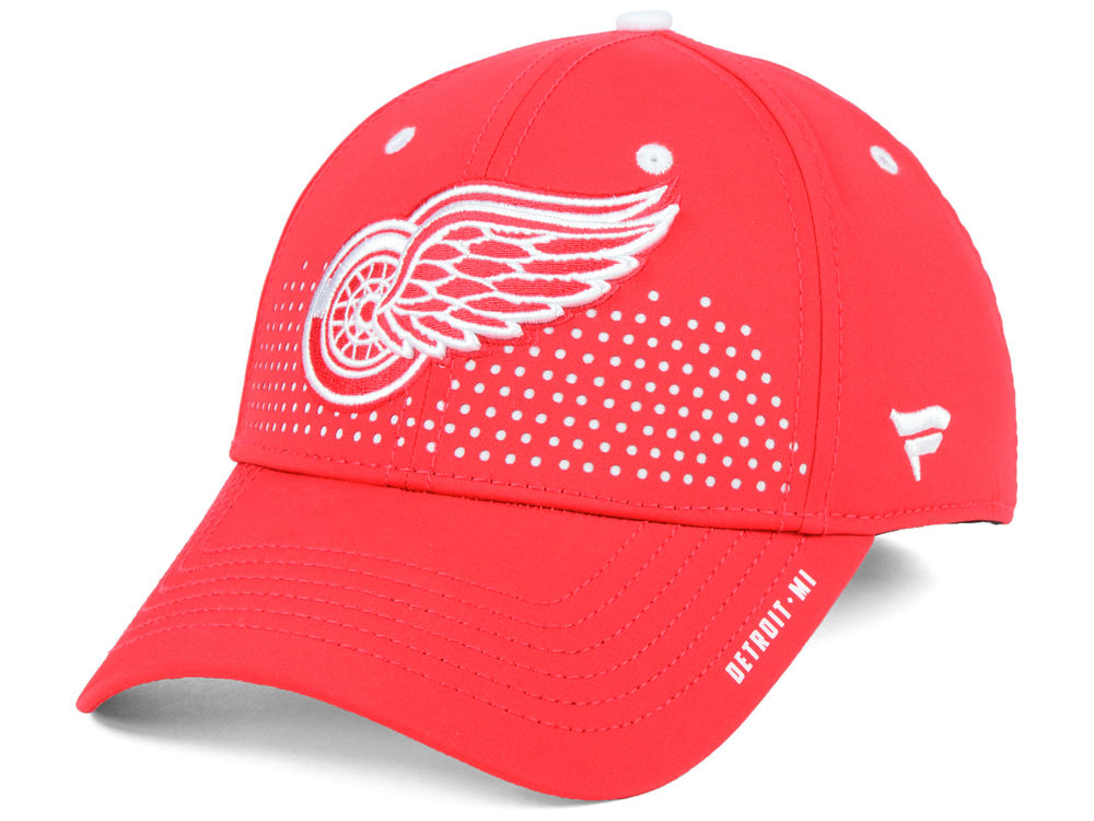 the latest 14115 323c4 ... promo code detroit red wings 2018 nhl draft structured flex cap 48352  87fdc