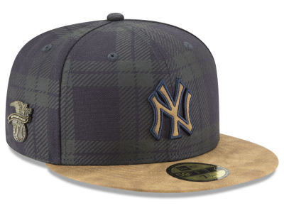 New York Yankees New Era MLB Plaid 59FIFTY Cap