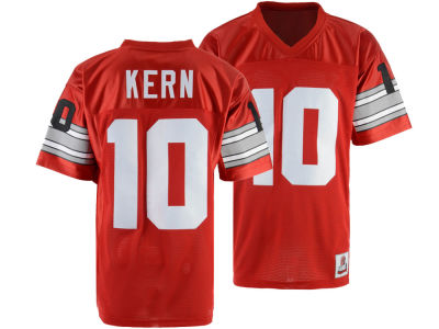 Ohio State Buckeyes Rex Kern Top of the World NCAA Men's Legends of the Scarlet & Gray Jersey