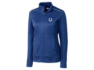 Indianapolis Colts Cutter & Buck NFL Women's CB WeatherTec Ridge Full Zip