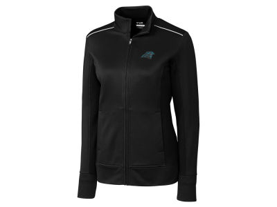 Carolina Panthers Cutter & Buck NFL Women's CB WeatherTec Ridge Full Zip