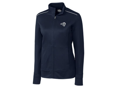 Los Angeles Rams Cutter & Buck NFL Women's CB WeatherTec Ridge Full Zip