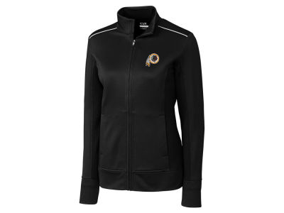 Washington Redskins Cutter & Buck NFL Women's CB WeatherTec Ridge Full Zip