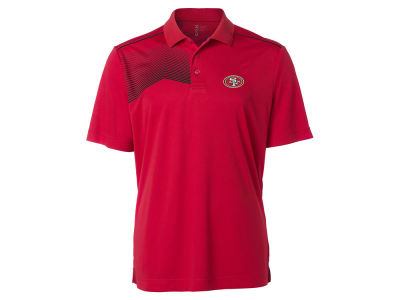 San Francisco 49ers Cutter & Buck NFL Men's Glen Acres Polo