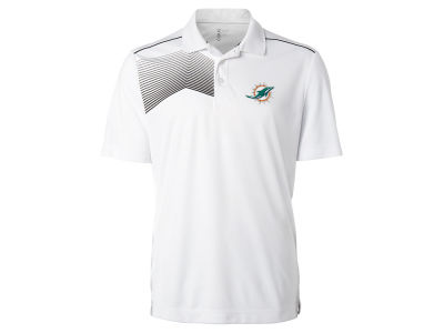 Miami Dolphins Cutter & Buck NFL Men's Glen Acres Polo