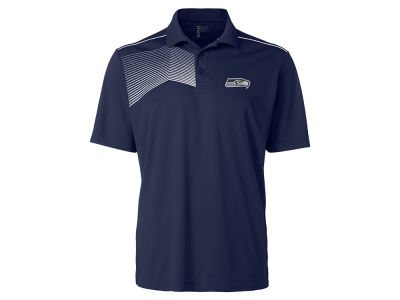 Seattle Seahawks Cutter & Buck NFL Men's Glen Acres Polo