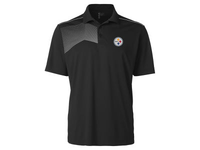 Pittsburgh Steelers Cutter & Buck NFL Men's Glen Acres Polo