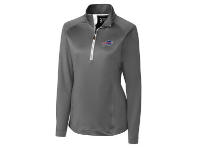 Buffalo Bills Cutter & Buck NFL Women's Jackson Half Zip Pullover