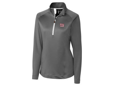 New York Giants Cutter & Buck NFL Women's Jackson Half Zip Pullover