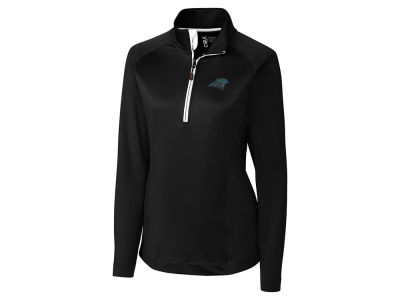 Carolina Panthers Cutter & Buck NFL Women's Jackson Half Zip Pullover