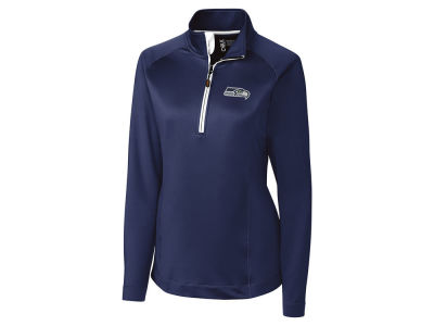 Seattle Seahawks Cutter & Buck NFL Women's Jackson Half Zip Pullover