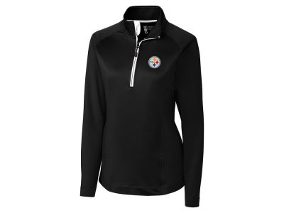 Pittsburgh Steelers Cutter & Buck NFL Women's Jackson Half Zip Pullover