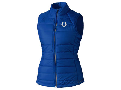 Indianapolis Colts Cutter & Buck NFL Women's Post Alley Vest