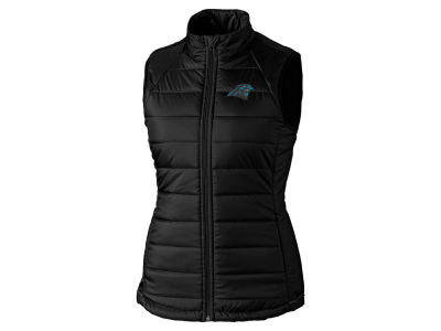 Carolina Panthers Cutter & Buck NFL Women's Post Alley Vest