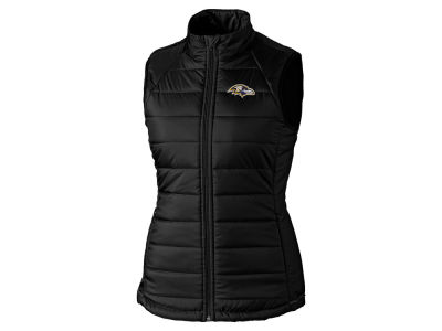 Baltimore Ravens Cutter & Buck NFL Women's Post Alley Vest