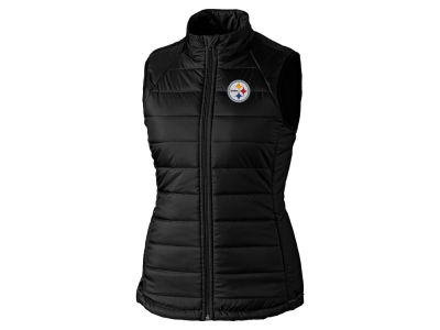 Pittsburgh Steelers Cutter & Buck NFL Women's Post Alley Vest