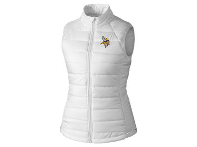 Minnesota Vikings Cutter & Buck NFL Women's Post Alley Vest