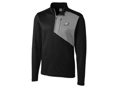 Philadelphia Eagles Cutter & Buck NFL Men's Shaw Hybrid Half Zip Pullover