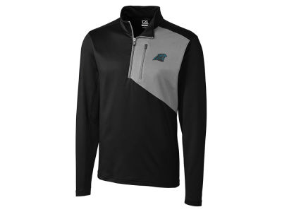 Carolina Panthers Cutter & Buck NFL Men's Shaw Hybrid Half Zip Pullover