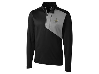 New Orleans Saints Cutter & Buck NFL Men's Shaw Hybrid Half Zip Pullover