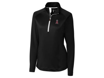 Los Angeles Angels Cutter & Buck MLB Women's Jackson Half Zip Pullover