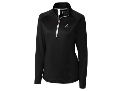 Atlanta Braves Cutter & Buck MLB Women's Jackson Half Zip Pullover