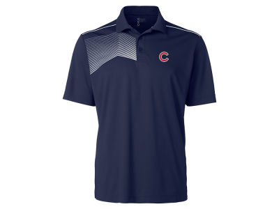 Chicago Cubs Cutter & Buck MLB Men's Glen Acres Polo