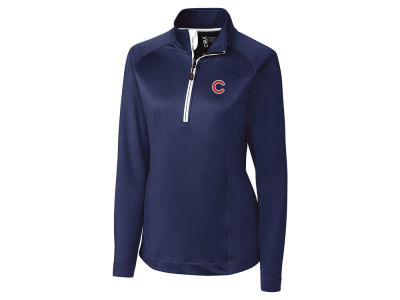 Chicago Cubs Cutter & Buck MLB Women's Jackson Half Zip Pullover