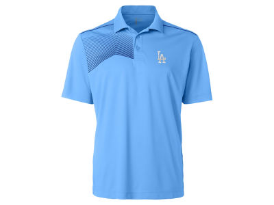 Los Angeles Dodgers Cutter & Buck MLB Men's Glen Acres Polo