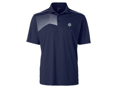 Seattle Mariners Cutter & Buck MLB Men's Glen Acres Polo