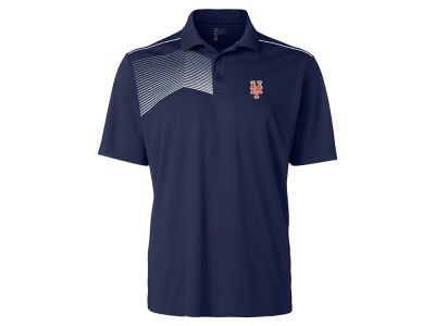 New York Mets Cutter & Buck MLB Men's Glen Acres Polo