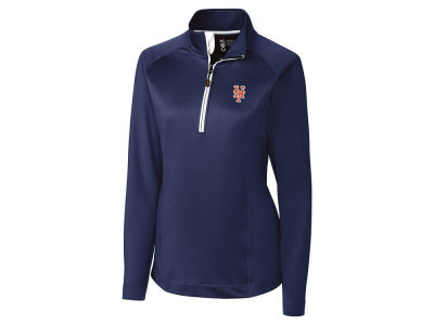 New York Mets Cutter & Buck MLB Women's Jackson Half Zip Pullover