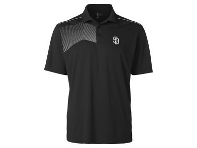 San Diego Padres Cutter & Buck MLB Men's Glen Acres Polo