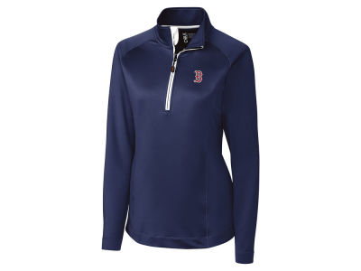 Boston Red Sox Cutter & Buck MLB Women's Jackson Half Zip Pullover