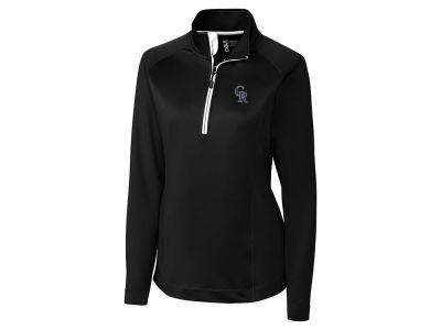 Colorado Rockies Cutter & Buck MLB Women's Jackson Half Zip Pullover
