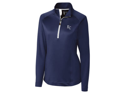 Kansas City Royals Cutter & Buck MLB Women's Jackson Half Zip Pullover