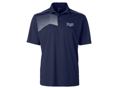 Tampa Bay Rays Cutter & Buck MLB Men's Glen Acres Polo