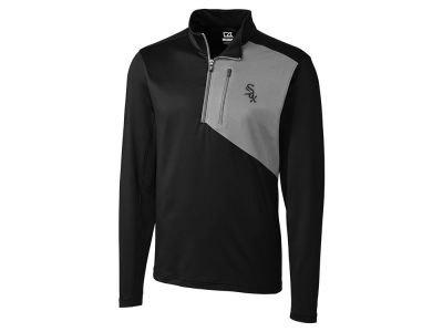 Chicago White Sox Cutter & Buck MLB Men's CB DryTec Shaw Hybrid Half Zip Pullover