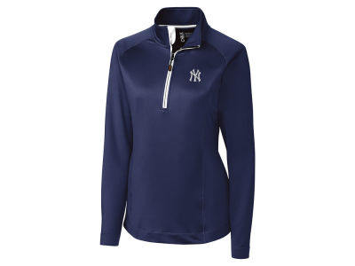 New York Yankees Cutter & Buck MLB Women's Jackson Half Zip Pullover