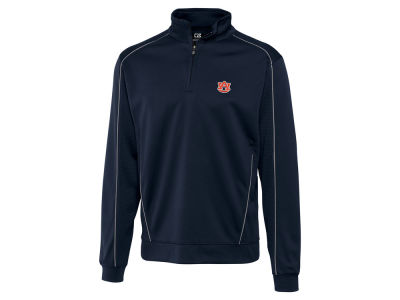 Auburn Tigers Cutter & Buck NCAA Men'sCB DryTec Edge Half Zip