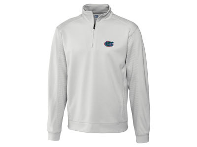 Florida Gators Cutter & Buck NCAA Men's DryTec Edge Half Zip